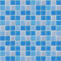 mozaiky | skleněná mozaika | Crystal | MCBA 231923 – modrý mix