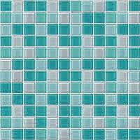 mozaiky | skleněná mozaika | Crystal | MCGT 235155 – zelený mix